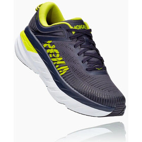 Hoka One One Bondi 7 Shoes Men, odyssey grey/deep well